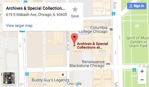 1014 South Michigan Ave College Archives Columbia College Chicago